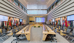 Image of world bank board room